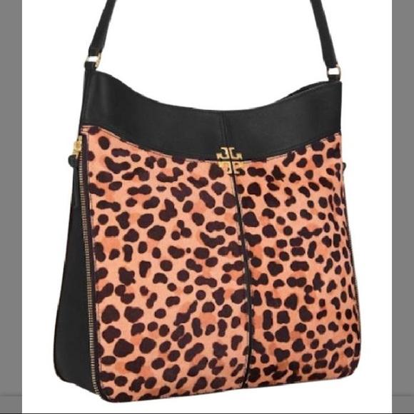 21c6abe6c644 Tory Burch Bags | Ivy Hobo Leopard Calf Hair | Poshmark